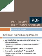 Paghihimay Sa Kulturang Popular 1