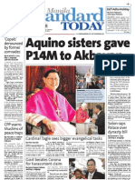 Manila Standard Today - Friday (October 26, 2012) Issue