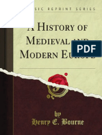 A History of Medieval and Modern Europe