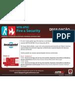 Apresentação Reservatórios de Pré-Engenharia em Aço Galvanizado-TECNIQUITEL-NFPA-APSEI Fire & Security 2012