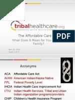 NIHOE ACA PPT_Individual Consumer Series I