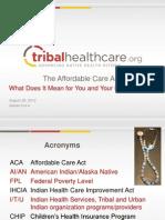 NIHOE ACA PPT_Health Directors Series III