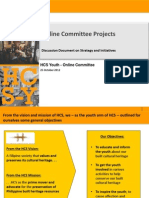 HCS Online Committee - Strategy and Initiatives v2