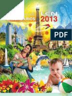 Catálogo de Calendarios promocionales LEN 2013