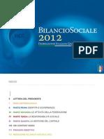 Bilancio Sociale FIGC 2012