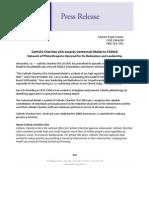 Press Release on Centennial Medal award to FADICA 5.23.11