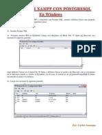 Como Usar Xampp Con Postgresql