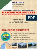 San Jose dB Administrative Governance