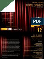 Programa Mes Del Teatro Hispano-Paraguayo
