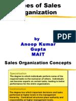 4 Sales Organization Structure