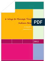 6 Ways to Manage Your Indian Boss