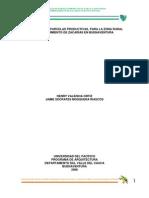 Propuesta de Parcelas Productivas, Para La Zona Rural Corregimiento de Zacarias en Buenaventura