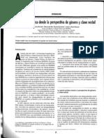 Salud publica Genero 2004