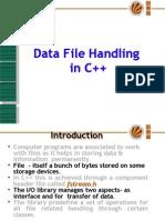 Data File Handling