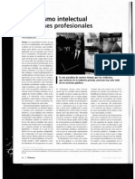 200710xx Radicalismo Intelectual e Intereses Profesionales (Profesiones 19, 2007)