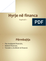 Hyrje ne financa