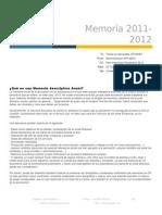 Memoria Aptaeex 2012
