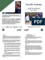 Staff Handbook 2012-2013