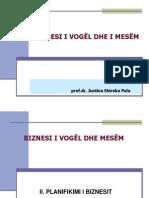 NVM-Plani i Biznesit  6. Planifikimi i Biznesit