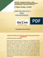 Consulte la presentación de la profesora María Magdalena Ramírez Bedolla