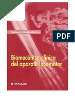 Biomecanica Clinica Del Aparato Locomotor