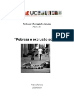 Pobreza e Exclusao Social