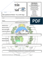 Boletín Oficial Agosto Nº 20 de 2012