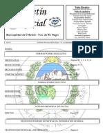Boletín Oficial Agosto Nº 21 de 2012