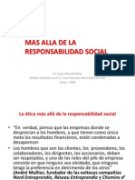 La Etica Empresarialmas Alla de Lo Social