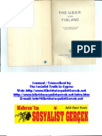 1939 the USSR and Finland FLPH 1939