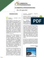 Boletín Agosto  - Red Ambiental Interuniversitaria