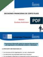 Decisiones Financieras de Corto Plazo