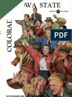 1954 Homecoming Football Program