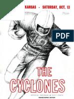 1962 Homecoming Football Program