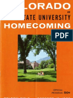 1963 Homecoming Football Program