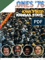 1976 Homecoming Football Program