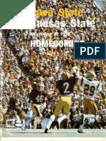 1978 Homecoming Football Program