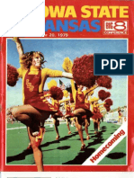 1979 Homecoming Football Program