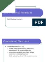 Obj. 9 Rational Functions (Presentation)