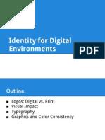 Identity for Digital Environments Presentation