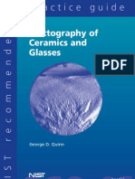 Fractography of Ceramics and Glasses Quinn SP960-161