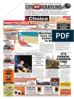Weekly Choice - October 18, 2012 - Newspaper