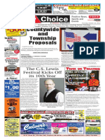 Weekly Choice - October 25, 2012 - Newspaper