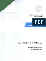 INFORME FINAL N° 42-2012 MUNICIPALIDAD DE VITACURA