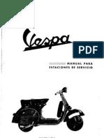 Manual Para Estaciones de Servicio-Vespa-150