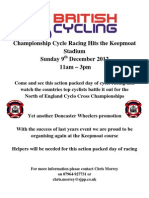 Cyclocross 2012 Poster