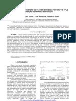 Determinação HPLC glicerol