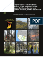 Comprehensive Fuels Treatment Practices Guide for Mixed Conifer Forests