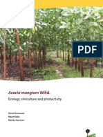Acacia Mangium Ecology, Silviculture and Productivity
