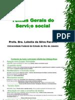 Temas Gerais do Serviço social. - Profª Lobélia